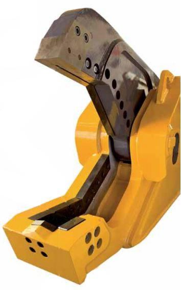 Гидравлические ножницы для металла серии ISS