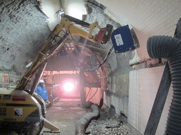 Реконструкция тоннеля