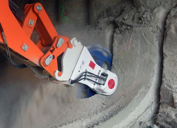 Нарезание бетонных плит