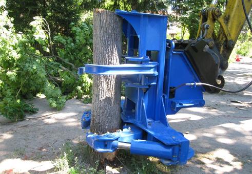 комбайны для удаления деревьев