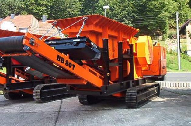 ВВ 80 Т. Стоянка завода BAT GmbH