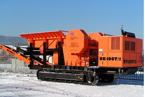 BB 100 T-1. Вид на стоянке