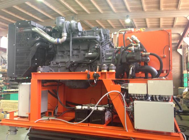 BB 100 T-1. Двигатель